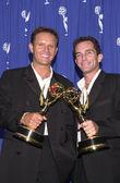 Mark Burnett and Jeff Probst — Stock Photo