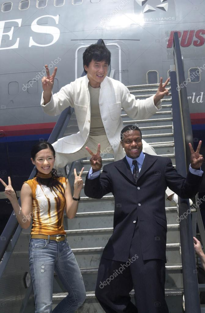 Ziyi Zhang and chris tucker