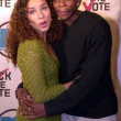 Foto de Stock  : Dule Hill and date