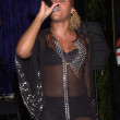 Eve singing - Stockfoto