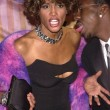 Whitney Houston and Bobby Brown — Stock Photo