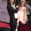 Постер, плакат: Janine Turner and daughter