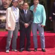 Christian Slater, John Woo and Nicolas Cage - Stock Photo