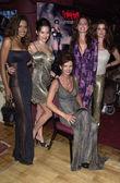 Traci Bingham, Black Scorpion, Michelle Lintel and guests — Stock Photo