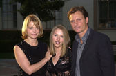 Nastassja Kinski and Scarlett Johansson and Tony Goldwyn — Stock Photo