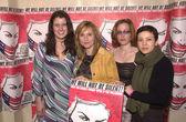 Paula Cole, Melissa Etheridge, Gillian Anderson and Mia Doi Todd — Stock Photo