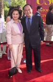 John woo en vrouw — Stockfoto