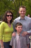 Michael biehn und familie — Stockfoto