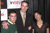 Jason Schwartzman, Jason Lee and Selma Blair — Stock Photo