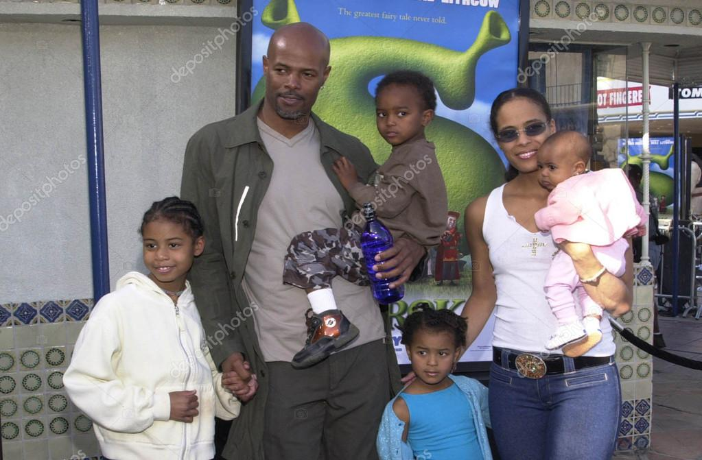 Keenan Ivory Wayans wife Daphne and family - Stock Editorial    Keenan Ivory Wayans Wife