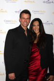 Cameron Mathison and  Vanessa Arevalo — Stock Photo