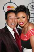 Smokey Robinson, Jennifer Hudson — Stock Photo