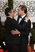 Oscar Isaac, Leonardo Dicaprio — Stock Photo