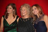 Louise Goffin, Carole King, Sherry Goffin Kondor — Stock Photo