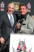 Sylvester Stallone, Gary Barber — Stock Photo
