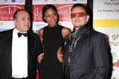 Carlo Bocchi, Naomie Harris, Bono — Stock Photo
