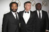 Brad Pitt, Chiwetel Ejiofor, Steve McQueen — Stock Photo