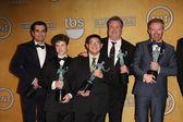 Ty Burrell, Nolan Gould, Rico Rodriguez, Eric Stonestreet, Jesse Tyler Ferguson — Stock Photo