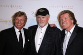 Mike Love, Peter Noone, Nigel Lythgoe — Stock Photo