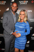 Hank Baskett and Kendra Wilkinson — Stock Photo