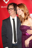Alicia Witt, Ben Folds — Stock Photo