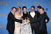 Bryan Cranston, Aaron Paul, Vince Gilligan, Anna Gunn, Betsy Brandt, RJ Mitte — Stock Photo