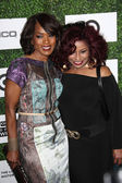 Angela Bassett, Chaka Khan — Stock Photo