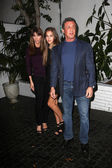Jennifer Flavin, Sistine Rose Stallone, Sylvester Stallone — Stock Photo