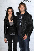 Eric Christian Olsen, Daniela Ruah — Stock Photo
