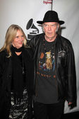 Neil Young, Pegi Young — Stock Photo