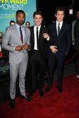 Zac Efron, Michael B. Jordan, Miles Teller — Stock Photo