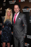 Tara Reid and Jamie Kennedy — Stock Photo