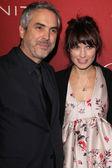 Alfonso Cuaron, Sheherazade Goldsmith — Stock Photo