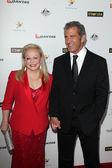 Mel Gibson, Jacki Weaver — Stock Photo