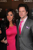 Farrah Abraham and Jamie Kennedy — Stock Photo