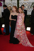 Drew Barrymore, Jessica Chastain — Stock Photo