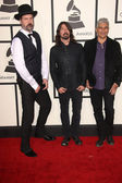 Dave Grohl, Pat Smear, Krist Novoselic — Stock Photo