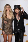 Marisa Miller and Steven Tyler — Stock Photo