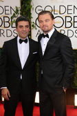 Oscar Isaac, Leonardo Dicaprio — Stockfoto