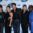 Постер, плакат: Jennifer Lopez Keith Urban Harry Connick Jr Ryan Seacrest Randy Jackson