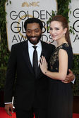 Chiwetel Ejiofor, Sari Mercer — Stock Photo