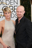 Robin Wright, Ben Foster — Stock Photo