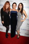 Katie Lohmann, Teri Groves, Kerri Kasem — Stock Photo