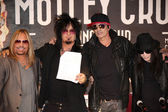 Vince Neil, Nikki Sixx, Tommy Lee, Mick Mars — Stock Photo