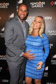Hank Baskett and Kendra Wilkinson — Stock Photo
