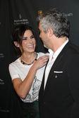 Sandra Bullock, Alfonso Cuaron — Stock Photo
