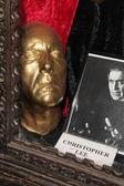Christopher Lee Life Mask — Stock Photo