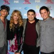 Carlito Olivero, Paulina Rubio, Carlos Guevara  and Tim Olstad — Stock Photo #50649371