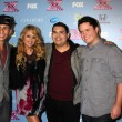 Carlito Olivero, Paulina Rubio, Carlos Guevara and Tim Olstad — Stock Photo #50651579