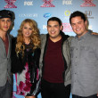 Carlito Olivero, Paulina Rubio, Carlos Guevara  and Tim Olstad — Stock Photo #50652517